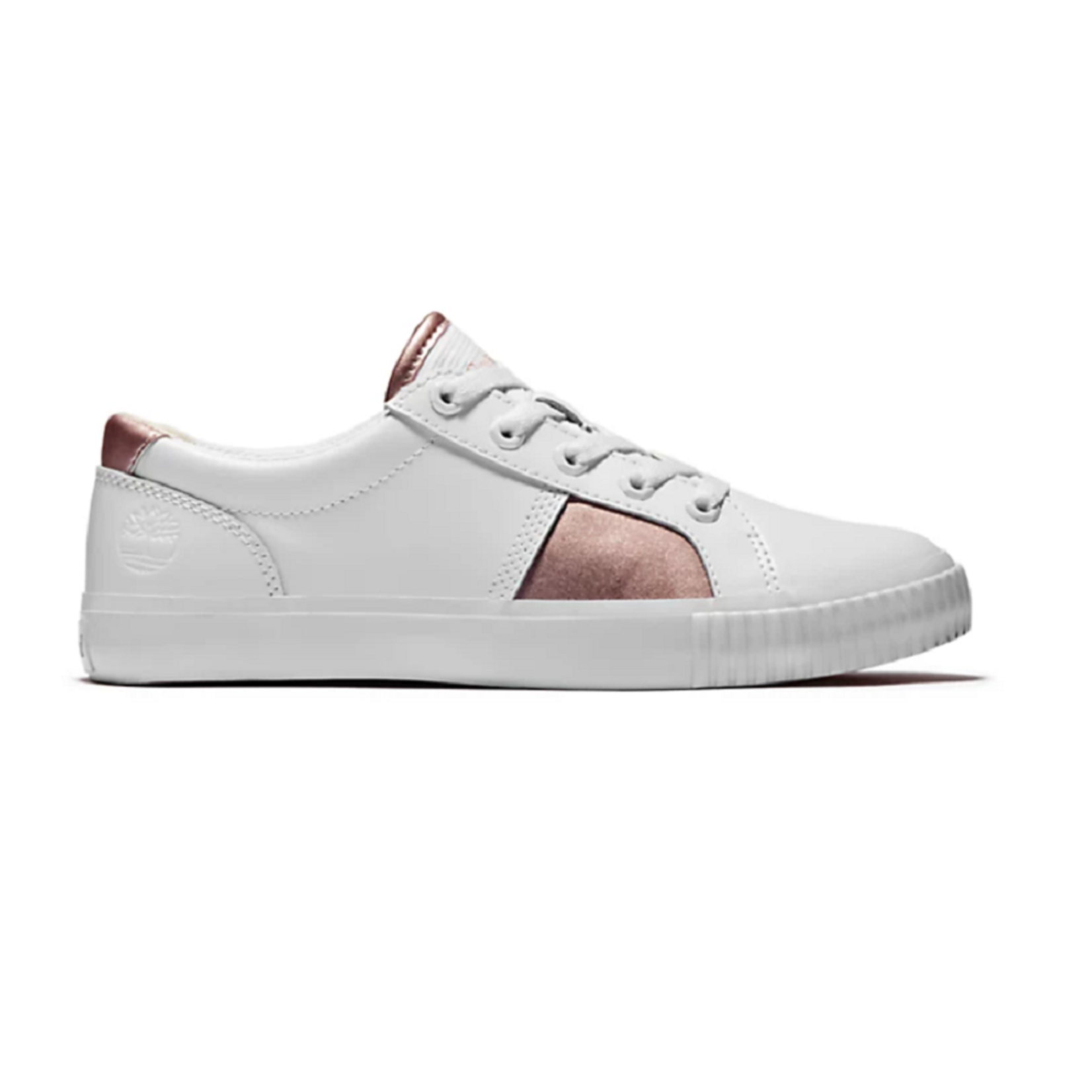 Timberland SKYLA BAY TRAINER FOR WOMEN IN WHITE/PINK