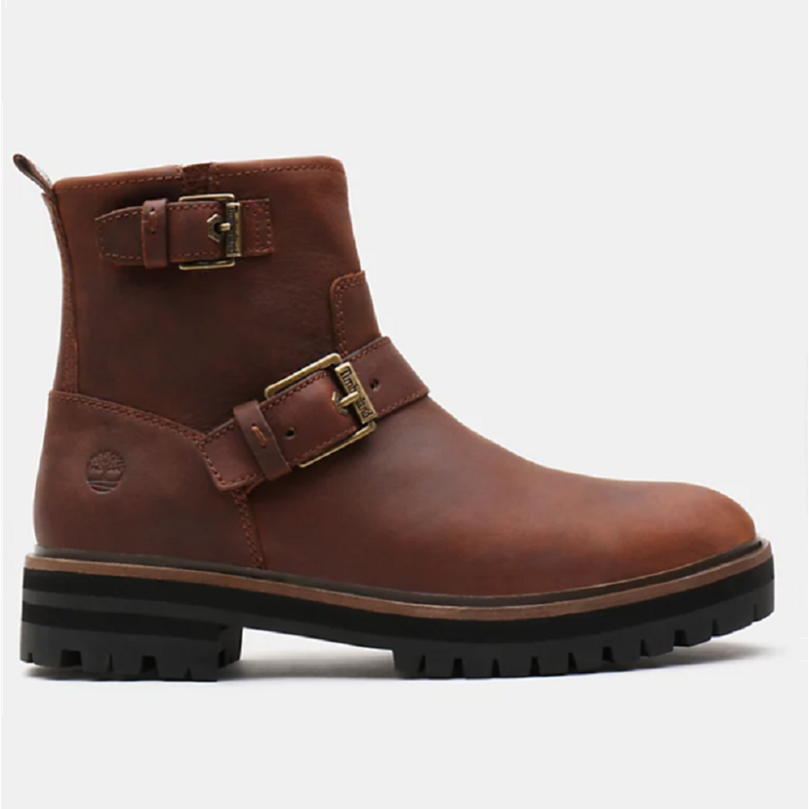 Timberland LONDON SQUARE BIKER BOOT FOR WOMEN IN BROWN