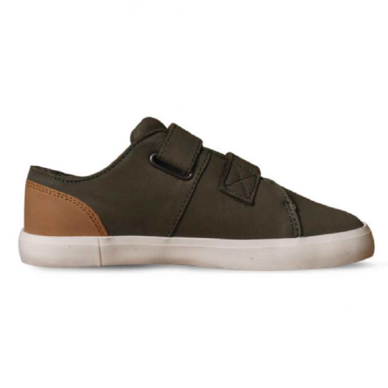 Timberland NEWPORT BAY LEATHER TRAINER FOR YOUTH IN GREEN