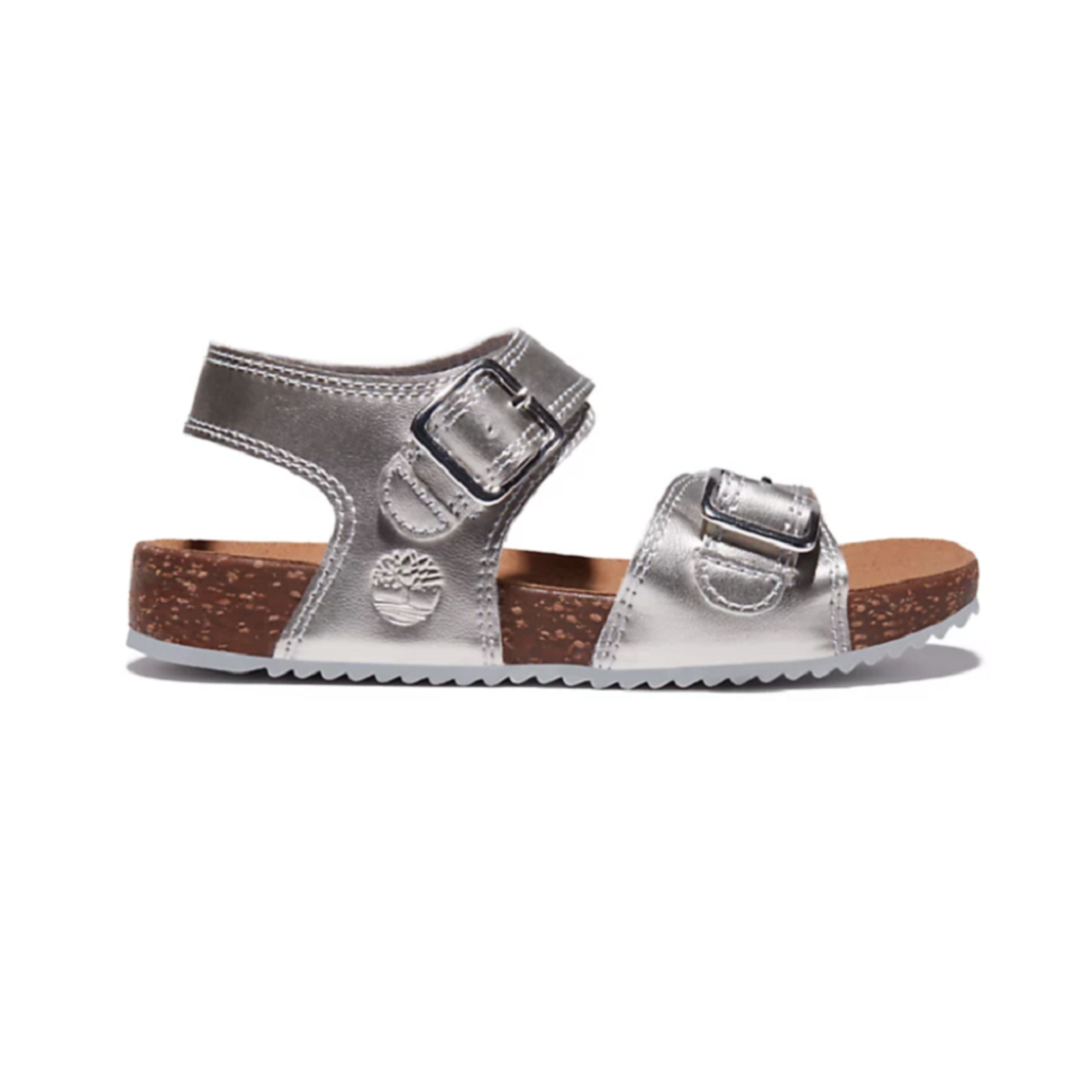 Timberland CASTLE ISLAND SANDAL FOR TODDLER IN SILVER