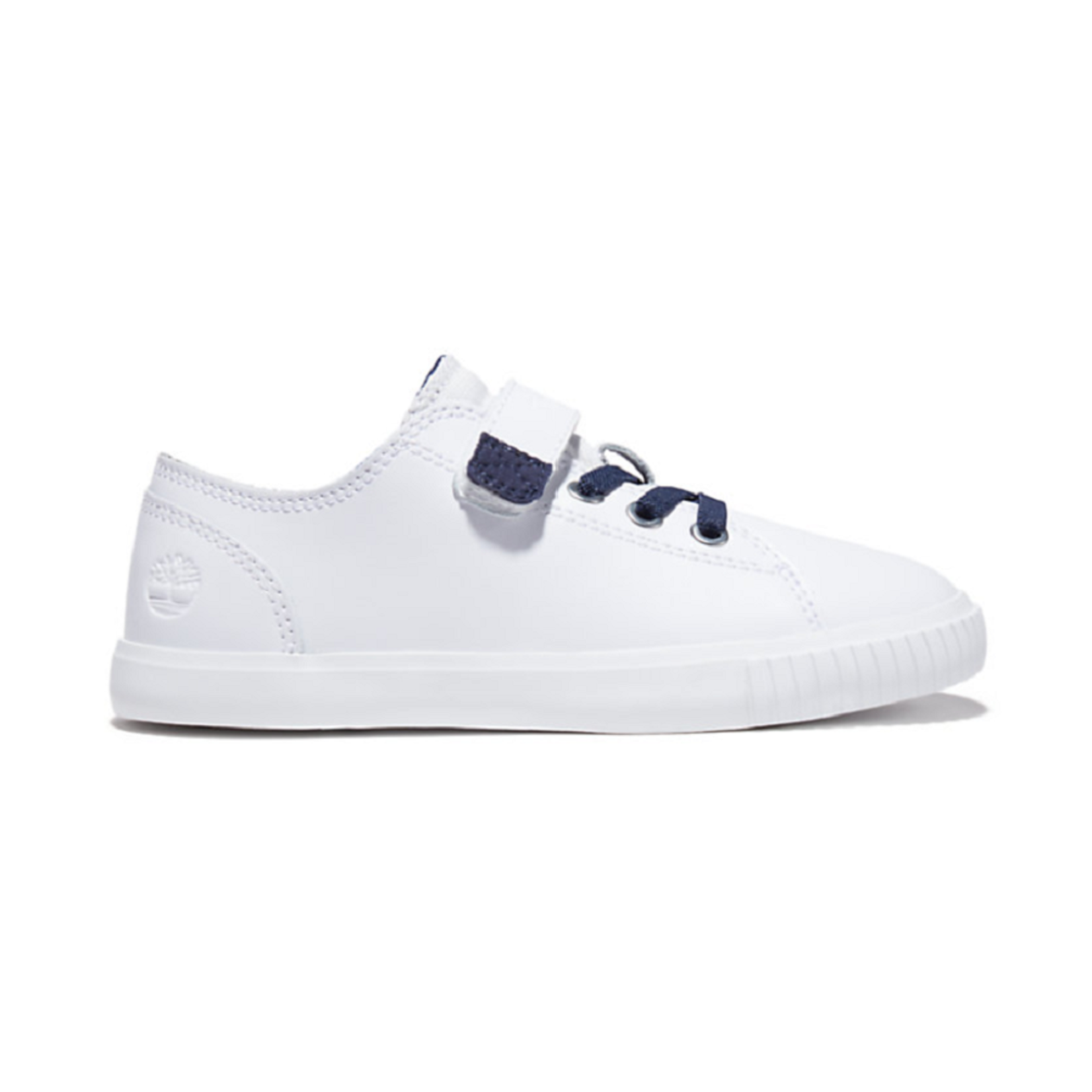 Timberland NEWPORT BAY SNEAKER FOR YOUTH IN WHITE/NAVY