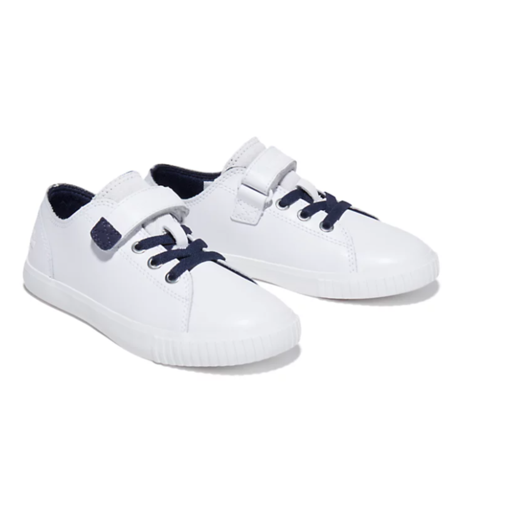 Timberland NEWPORT BAY SNEAKER FOR JUNIOR IN WHITE/BLUE