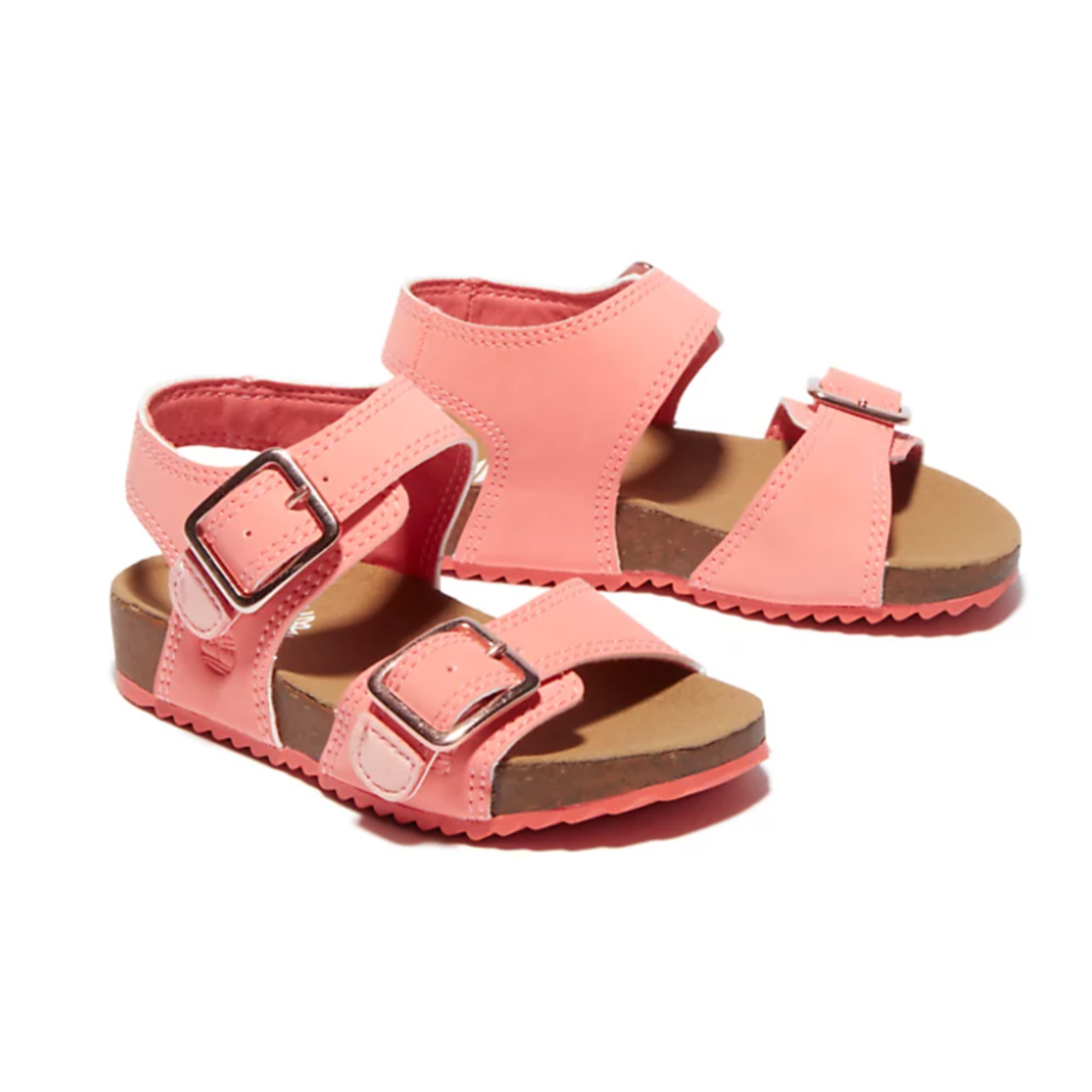 Timberland CASTLE ISLAND SANDAL FOR TODDLER IN PINK