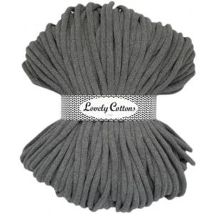 Lovely Cottons 9MM Gevlochten Darkgrey
