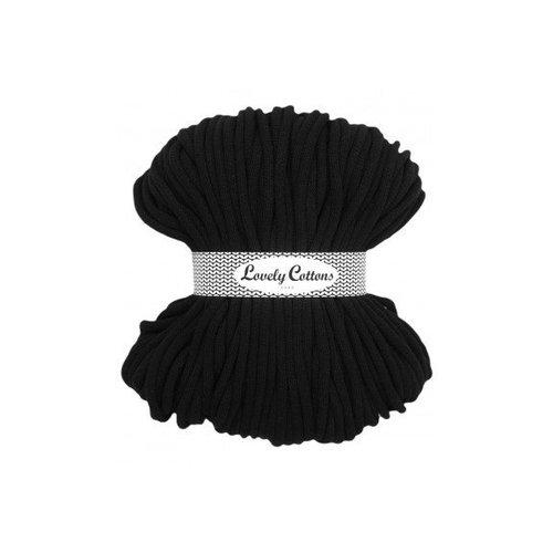 Lovely Cottons 9MM Gevlochten Black