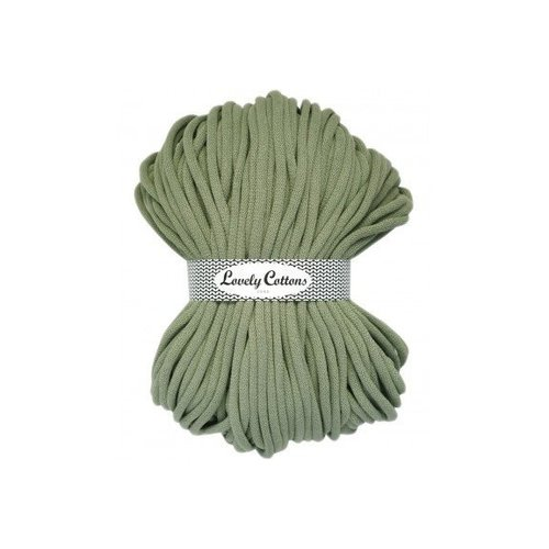 Lovely Cottons Lovely Cottons 9MM Gevlochten Olive