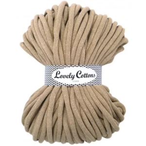 Lovely Cottons 9MM Gevlochten Goldbeige