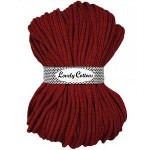 Lovely Cottons 9MM Gevlochten Bordeaux