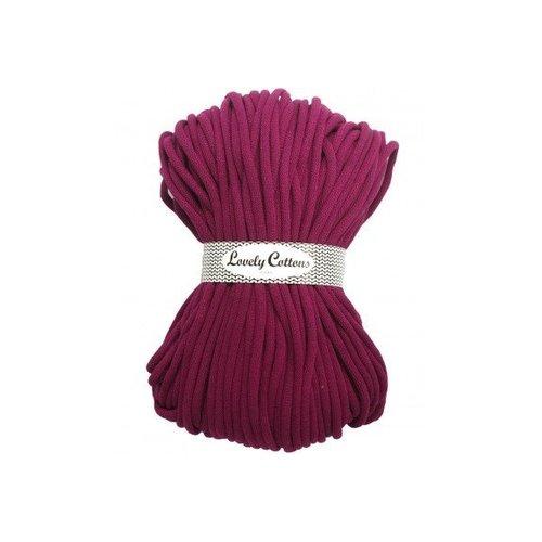 Lovely Cottons 9MM Gevlochten Darkrose