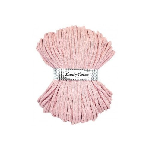 Lovely Cottons 9MM Gevlochten Babypink