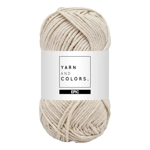 Yarn and colors Yarn and Colors Epic Ecru