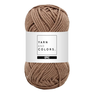 Yarn and colors Epic Taupe