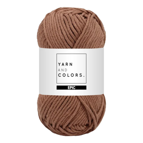 Yarn and colors Epic Teak
