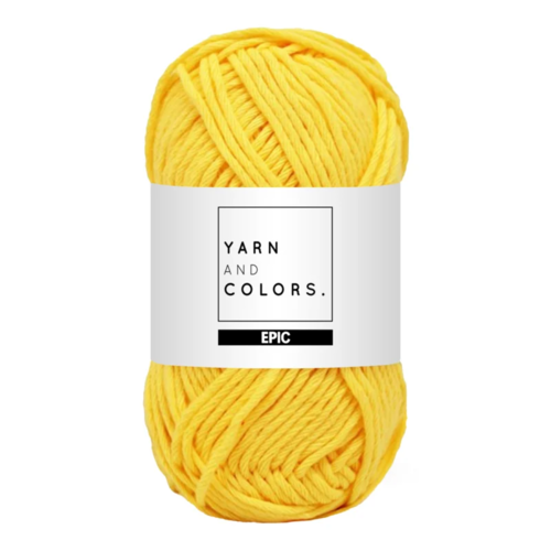 Yarn and colors Yarn and Colors Epic Sunglow