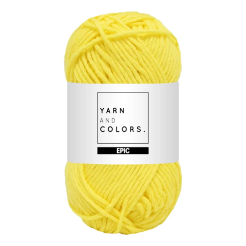 Yarn and colors Yarn and Colors Epic Lemon