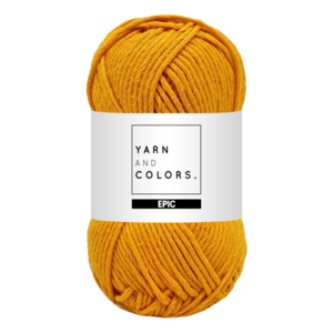 Yarn and colors Epic Mustard