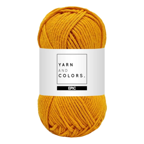 Yarn and colors Yarn and Colors Epic Mustard