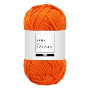 Yarn and colors Epic Orange
