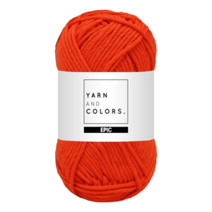 Yarn and colors Epic Fiery Orange