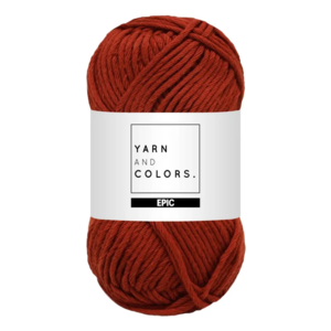 Yarn and colors Epic Chestnut