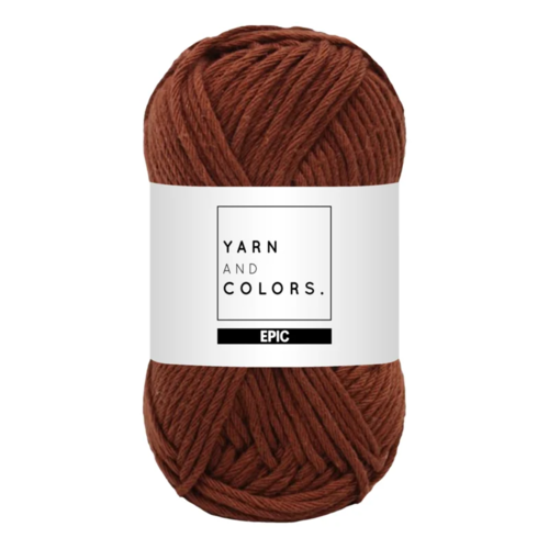Yarn and colors Yarn and Colors Epic Brownie