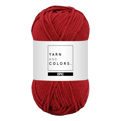 Yarn and colors Yarn and Colors Epic Burgundy