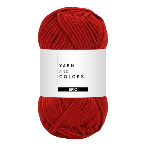 Yarn and colors Yarn and Colors Epic Red Wine