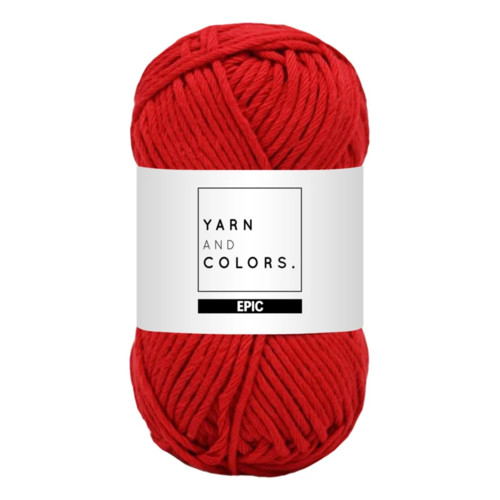 Yarn and colors Yarn and Colors Epic Cardinal