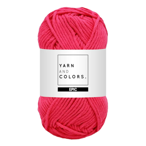 Yarn and colors Yarn and Colors Epic Girly Pink