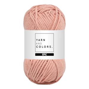 Yarn and colors Epic Rose