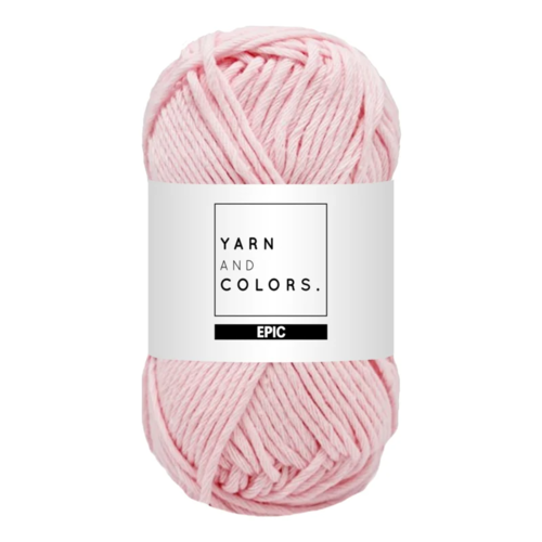 Yarn and colors Yarn and Colors Epic Light Pink