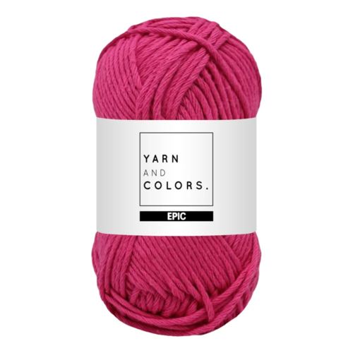 Yarn and colors Yarn and Colors Epic Fuchsia Pink