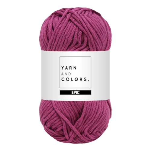 Yarn and colors Yarn and Colors Epic Plum
