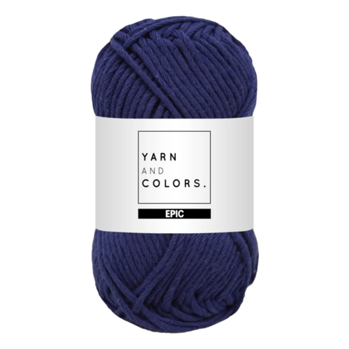 Yarn and colors Yarn and Colors Epic Navy