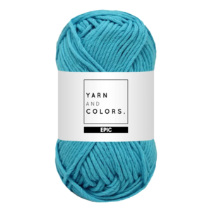 Yarn and colors Epic Turqouise