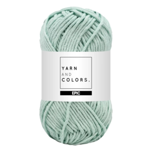 Yarn and colors Epic Jade Gravel