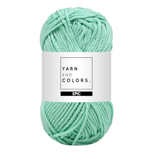 Yarn and colors Yarn and Colors Epic Green Ice