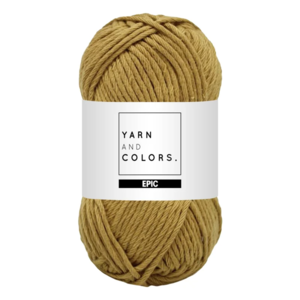 Yarn and colors Epic Gold
