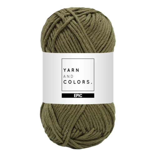 Yarn and colors Yarn and Colors Epic Olive