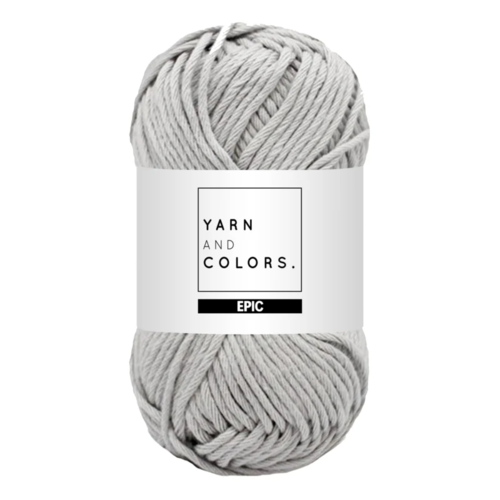 Yarn and colors Epic Soft Grey