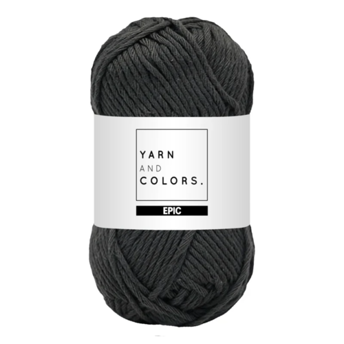 Yarn and colors Yarn and Colors Epic Graphite
