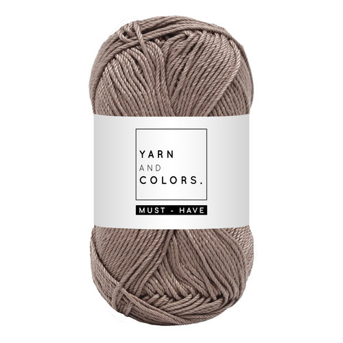 Yarn and colors Must-have Taupe