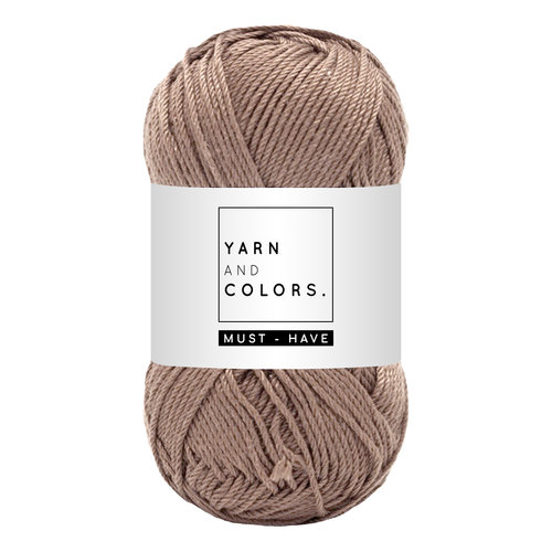 Yarn and colors Must-have Teak