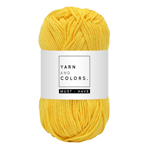 Yarn and colors Must-have Sunglow