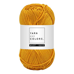 Yarn and colors Must-have Mustard