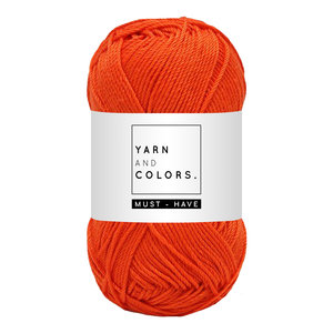 Yarn and colors Must-have Fiery Orange