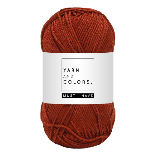 Yarn and colors Must-have Chestnut