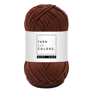 Yarn and colors Must-have Brownie
