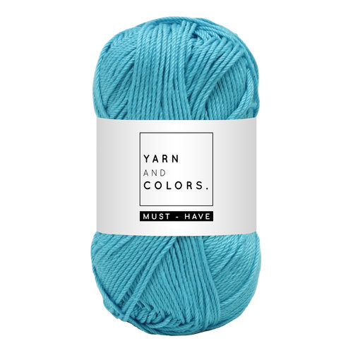 Yarn and colors Yarn and Colors Must-have Turqouise