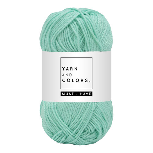 Yarn and colors Yarn and Colors Must-have Green Ice